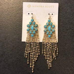 Kendra Scott turquoise earrings